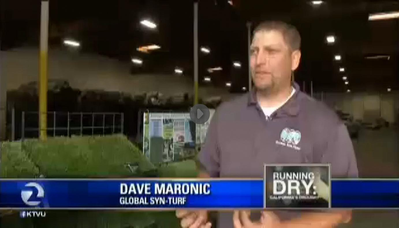 syntheticgrass California Drought Salvation - Global Syn-Turf at San Francisco's Fox News
