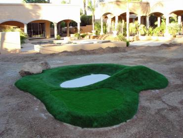 Artificial Grass Photos: Fake Turf Valle, Arizona Indoor Putting Greens, Commercial Landscape