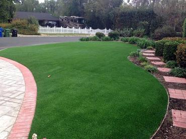 Artificial Grass Photos: Green Lawn Joseph City, Arizona Landscaping Business, Front Yard