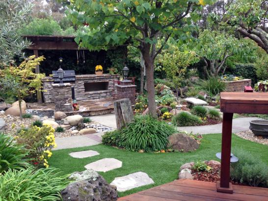 Artificial Grass Photos: How To Install Artificial Grass Mountainaire, Arizona Landscape Ideas, Backyard Landscape Ideas