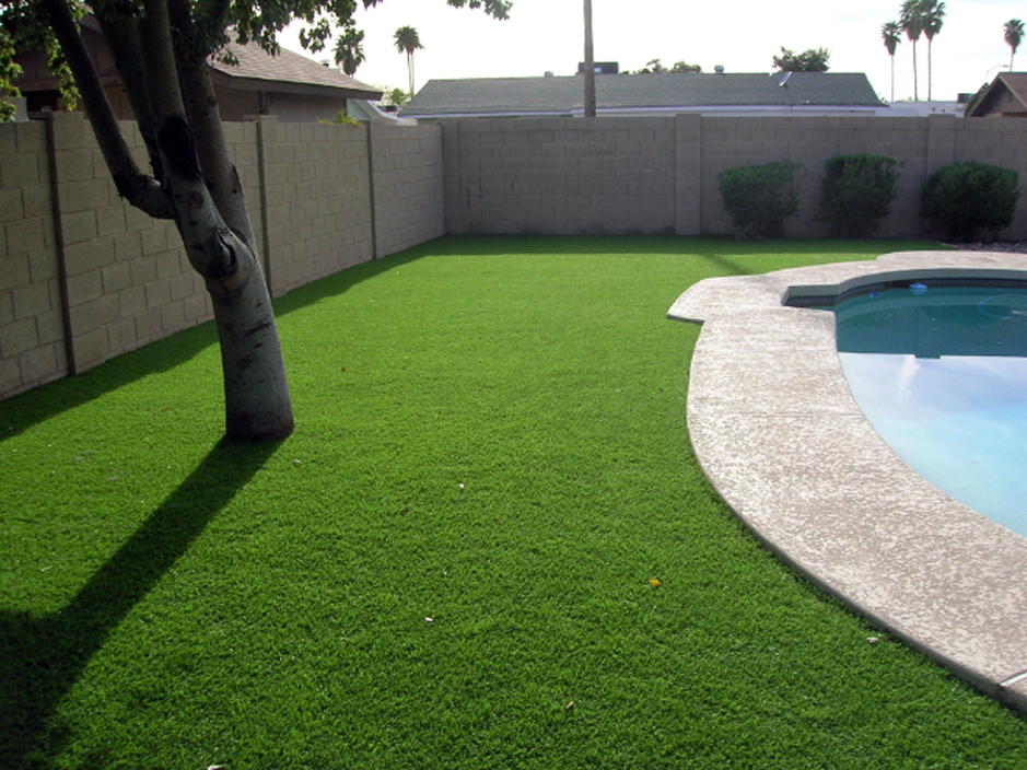 Artificial Turf Installation Maricopa, Arizona Backyard ... on Artificial Turf Backyard Ideas id=34317